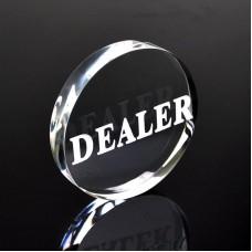 Botão Dealer Acrílico